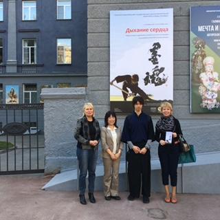 ノボシビルスク初の書道展は大成功でした!