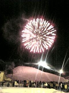 ニセコの花火大会