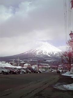 今日の羊蹄山