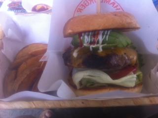 アグー豚ハンバーガー
