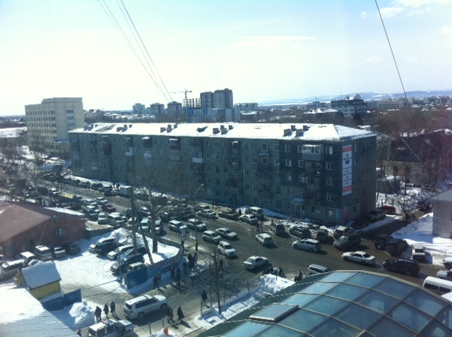 ロシアの渋滞